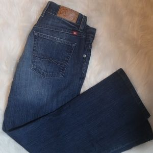 Lucky Brand Neopolitian Boot Cut Denim Jeans 4/27